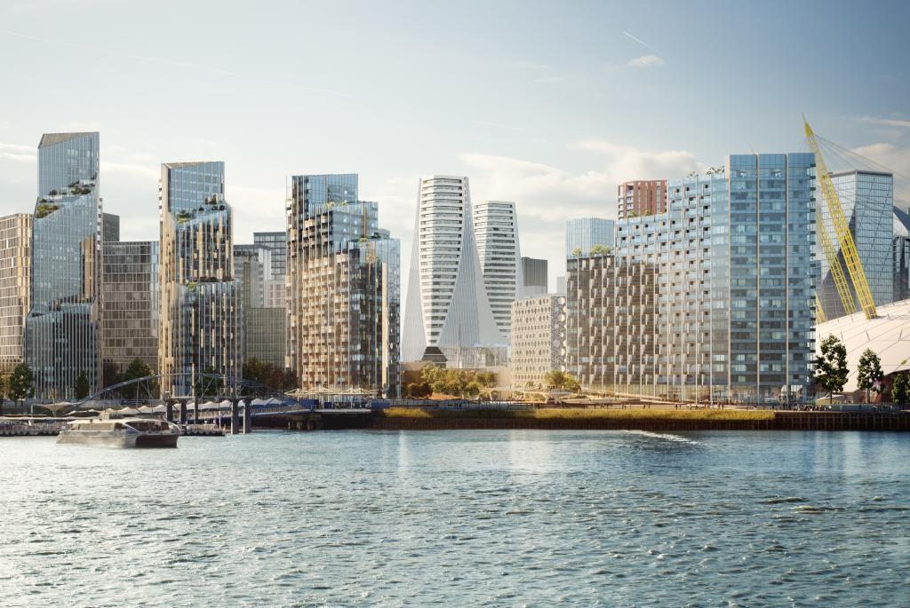 Lee Baron Project - Upper Riverside Greenwich Peninsular